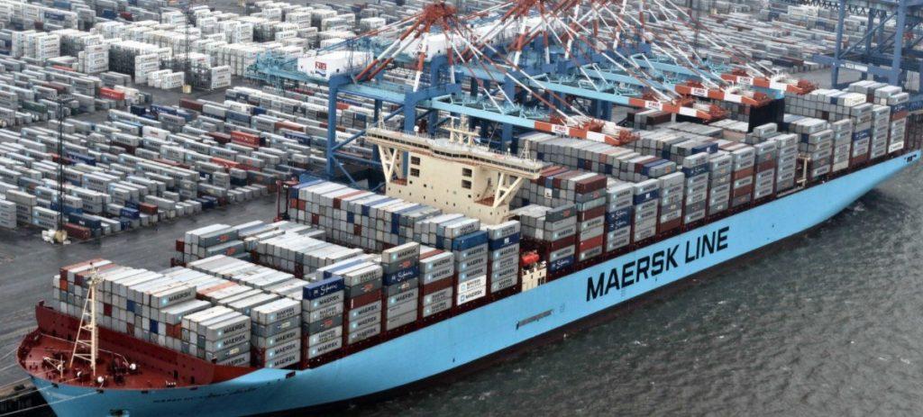A.P. Moller-Maersk 588 millones de euros hasta marzo