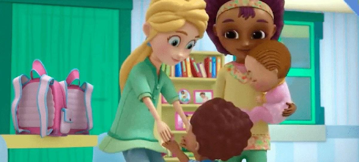 Disney presenta a una pareja de lesbianas en unos dibujos animados para niños