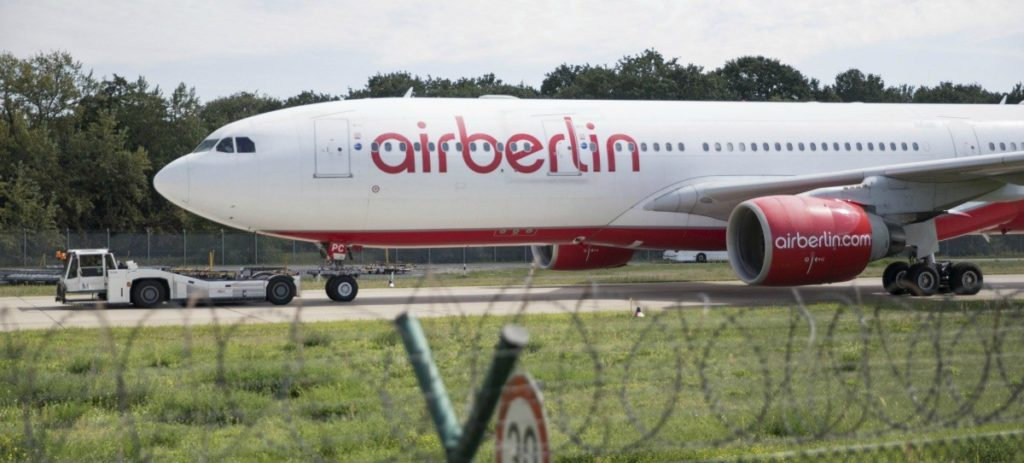 Lufthansa adquiere la mayor parte de Air Berlin