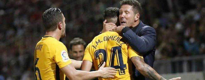 Un Atlético sin fútbol tira de fe para rescatar un punto en Girona