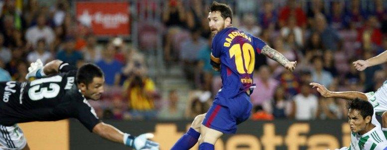 Barça 2-0 Betis: Messi fue lo mejor de un partido soporífero