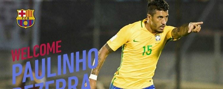 Oficial: Paulinho jugará en el Barça las próximas 4 temporadas