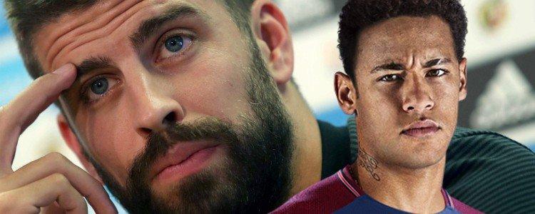 """Piqué: """"Sabía que Neymar se iba a ir cuando puse el tuit"""""""