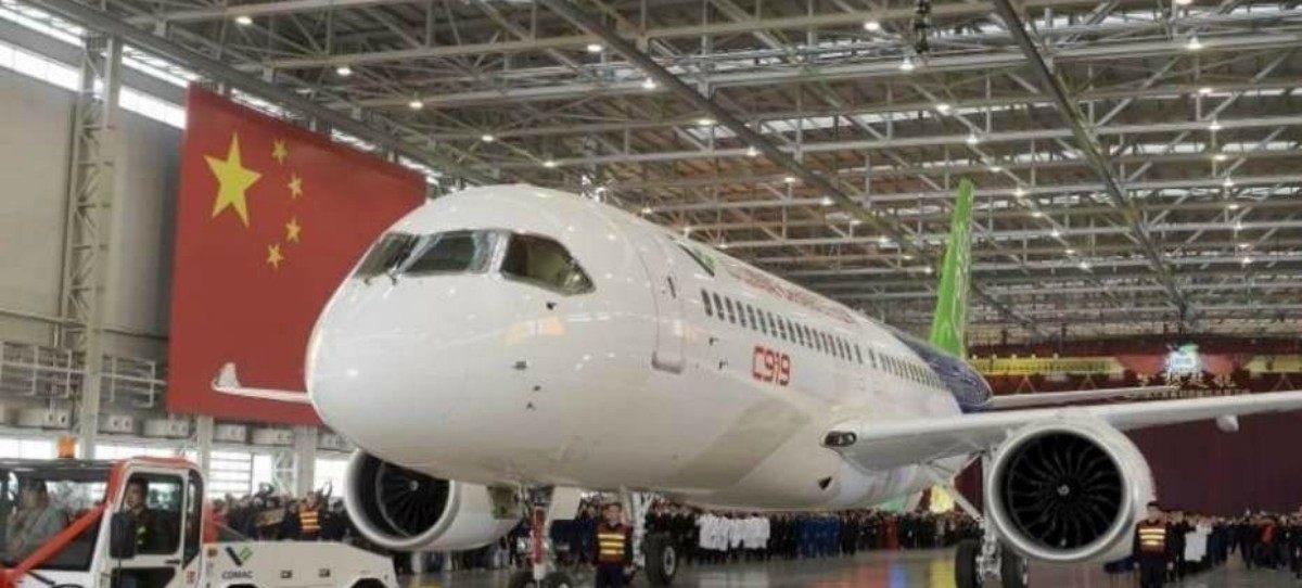 Sello español en la fabricación de aviones en China