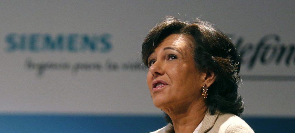 Los bonos de fidelización del Santander cotizan con una bajada del 20%