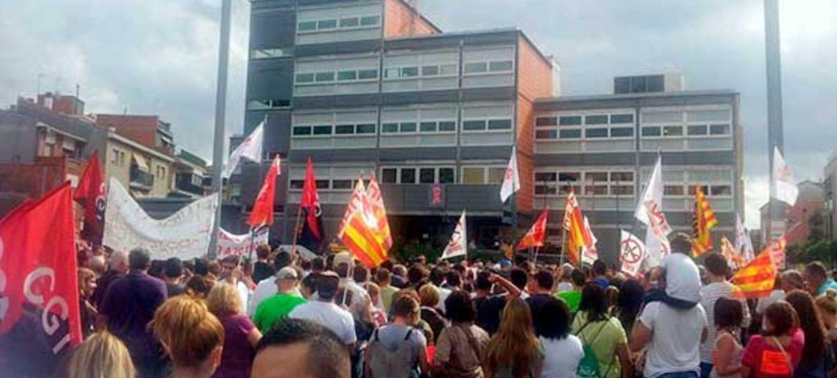 La CGT amenaza con una huelga general en Cataluña de una semana