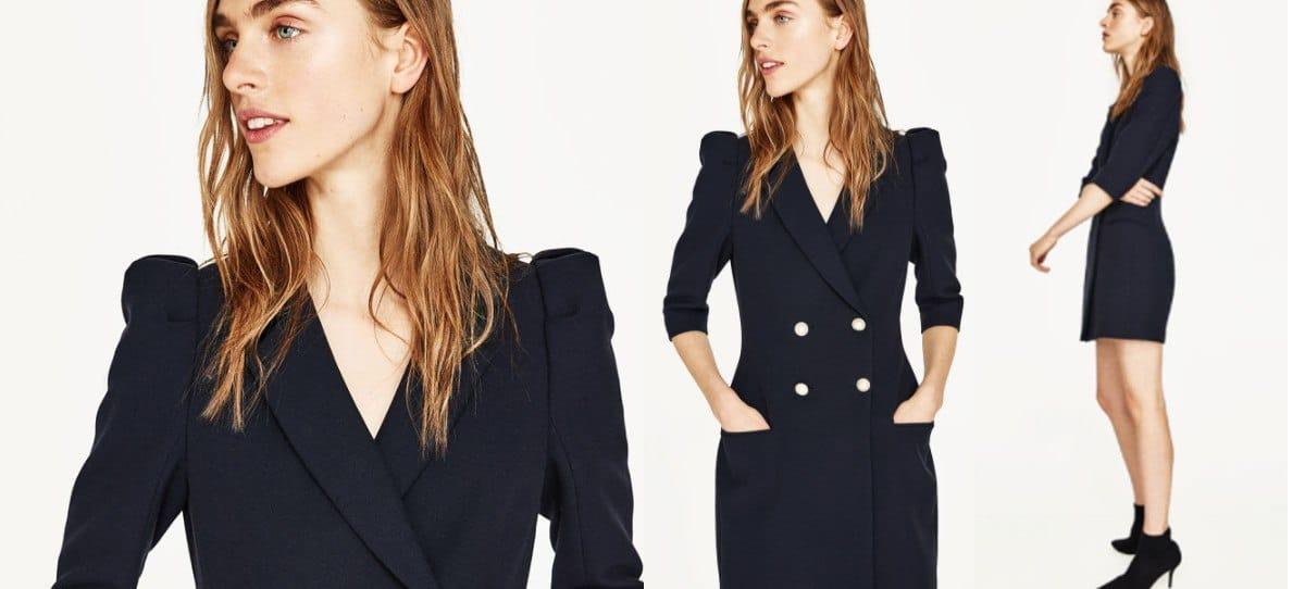 El motivo por el que se ha agotado el vestido blazer de Zara