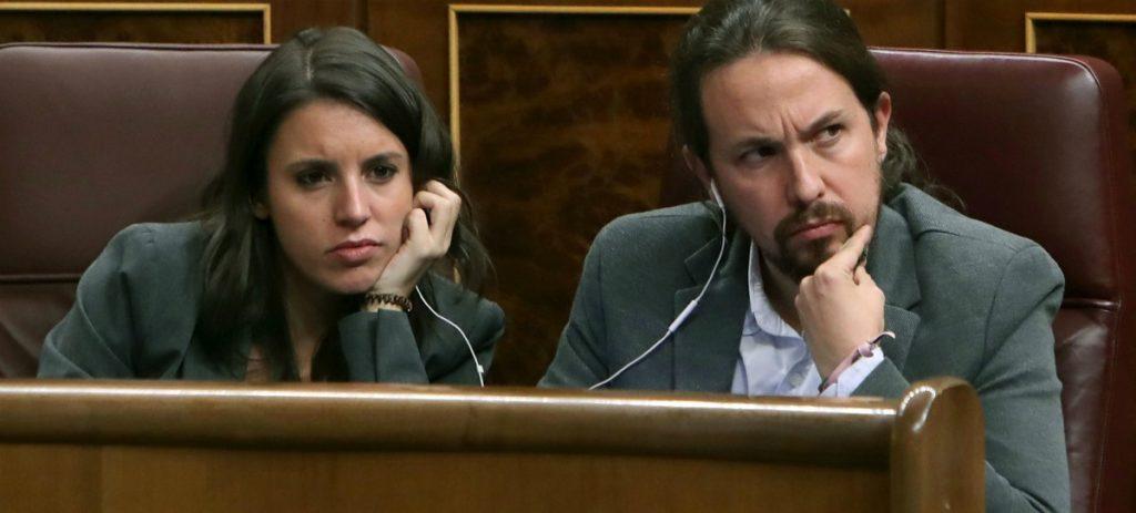 El 'vicepresidente' Iglesias y su pareja, Irene Montero, con escolta policial 24 horas por orden de Sánchez