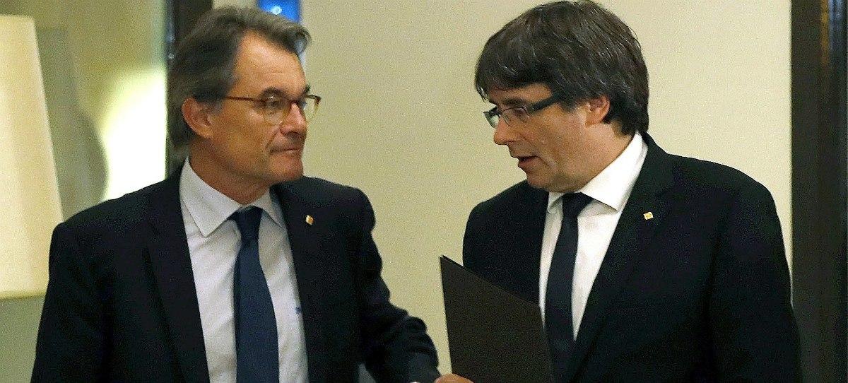 El Tribunal de Cuentas condena a Artur Mas a devolver 5 millones gastados en el 9N