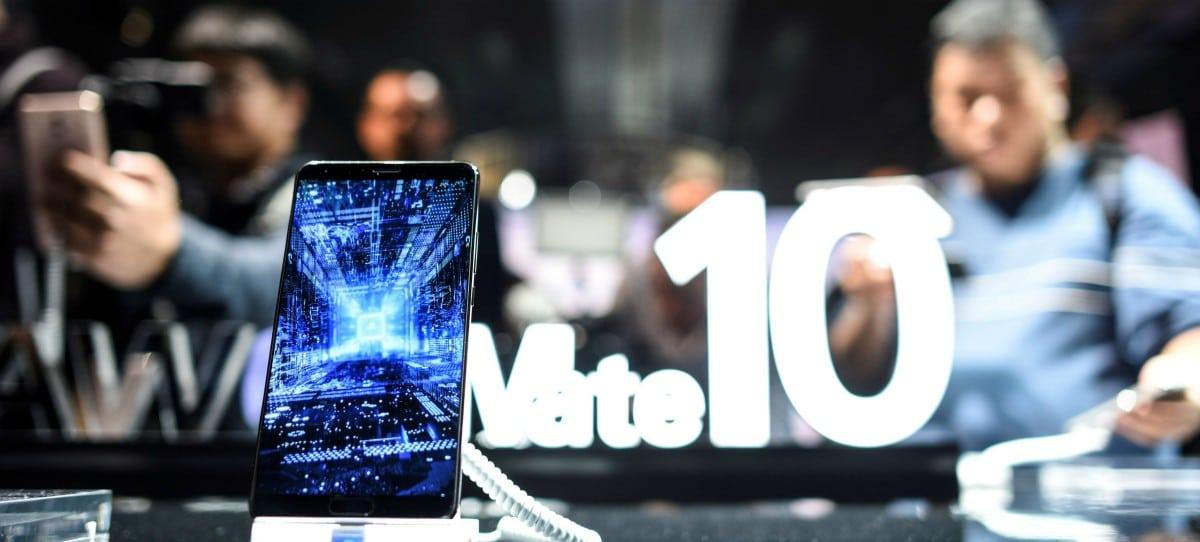 Huawei lanza su smartphone estrella, el Mate 10 Pro