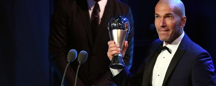 Zidane gana el premio The Best al mejor entrenador de 2017