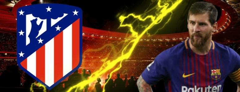 Messi llega al Wanda Metropolitano como el Dios de Argentina