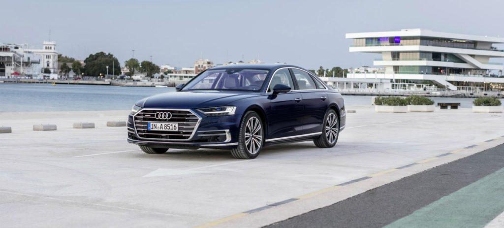 Audi abre los pedidos del nuevo A8