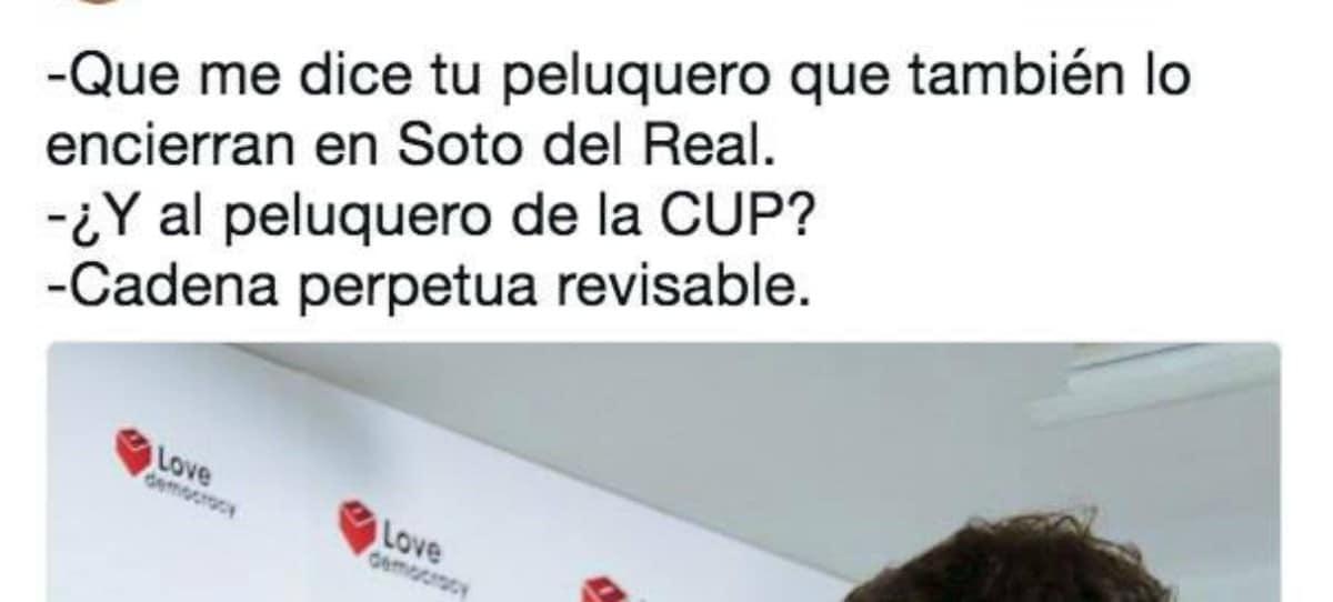 Memes sobre el encarcelamiento Sánchez y Cuixart por su ataque a la Guardi Cvil