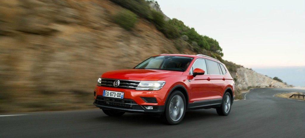 Volkswagen continua su ofensiva SUV y lanza el Tiguan Allspace