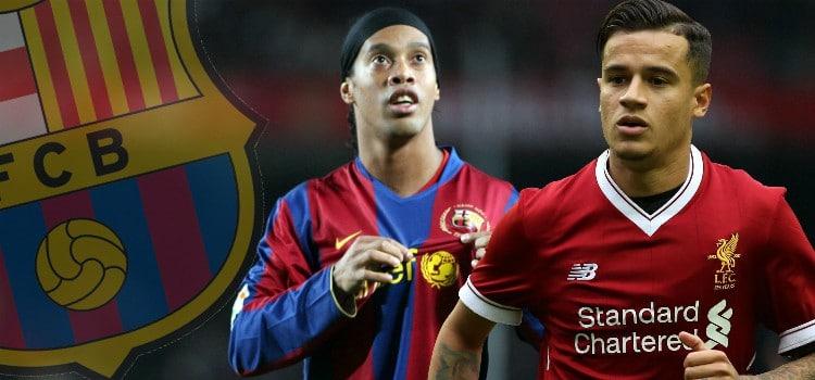 Ronaldinho quiere ver a Coutinho en el Barça