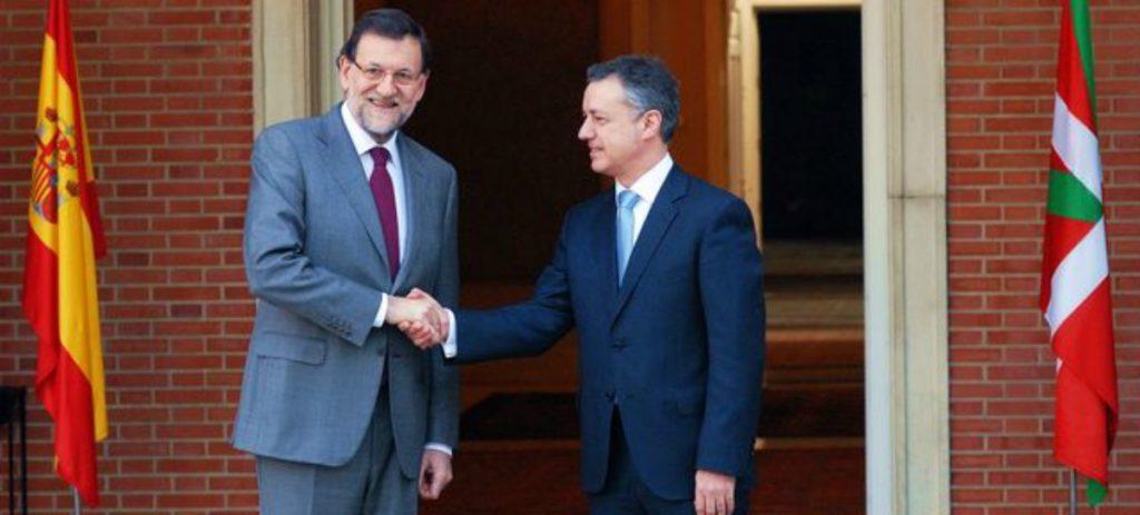 El País Vasco recibirá del Estado más dinero del que aporta