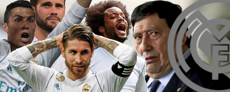 El Real Madrid se siente perseguido por los árbitros