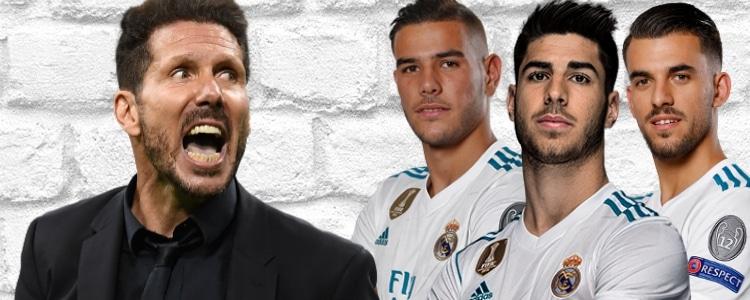 "Dardo de Simeone al Real Madrid: ""Ficha a todas las promesas de LaLiga"""