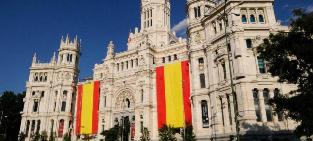 La izquierda radical se niega a colgar la bandera de España en Retiro