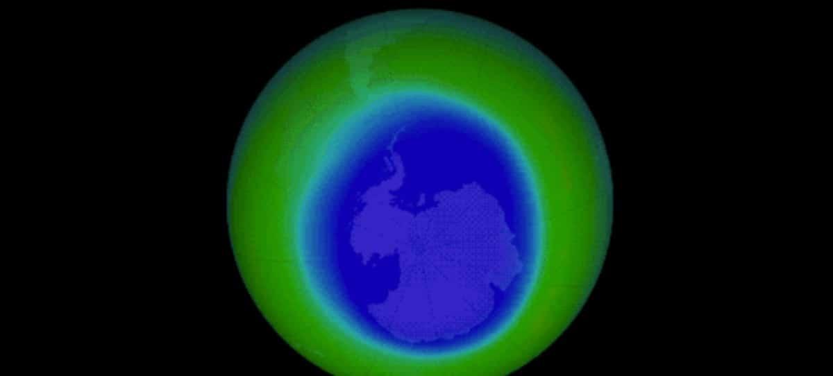 VÍDEO: La NASA publica pruebas de la reducción del agujero en la capa de ozono