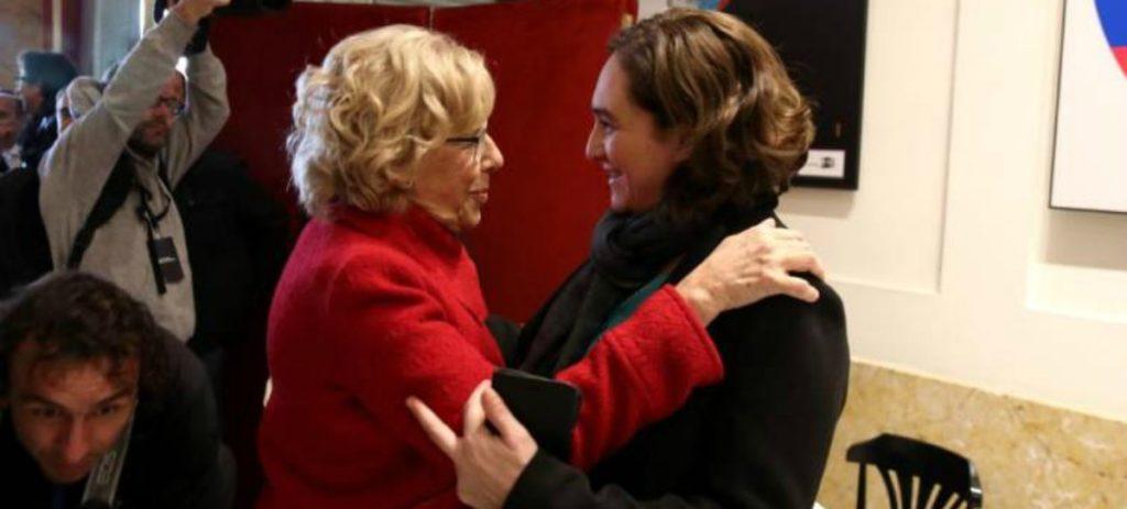 Carmena acogerá en un palacio de Tres Cantos a los inmigrantes ilegales que lleguen a Madrid