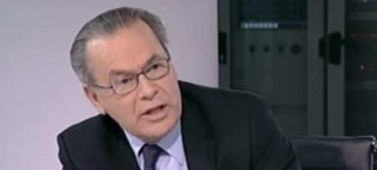 Jorge Fabra, un crítico del oligopolio eléctrico, en el CSN