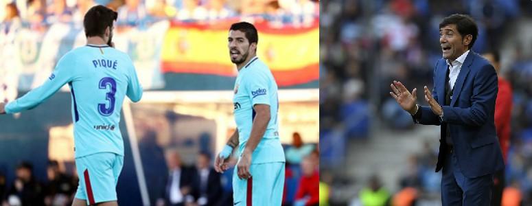 Se calienta el Valencia-Barcelona: habrá recursos por Piqué, Luis Suárez y Marcelino