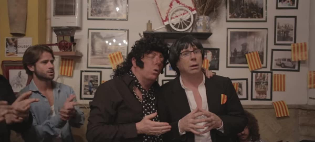 VÍDEO Así parodian Los Morancos la reunión de Puigdemont con los flamencos