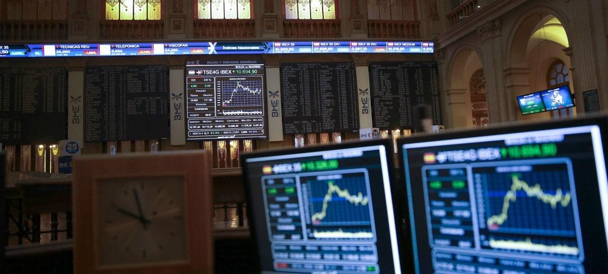 El IBEX 35 se aferra al 10.300 pese a ceder un 0,14%