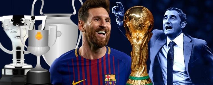 Messi pacta con Valverde para luchar por el triplete y el Mundial