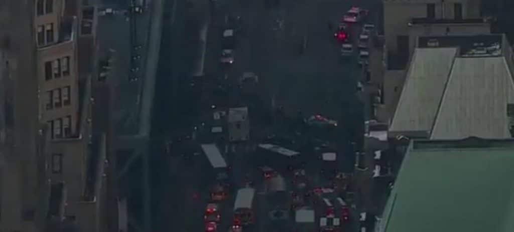Explosión en un terminal de autobuses de Nueva York