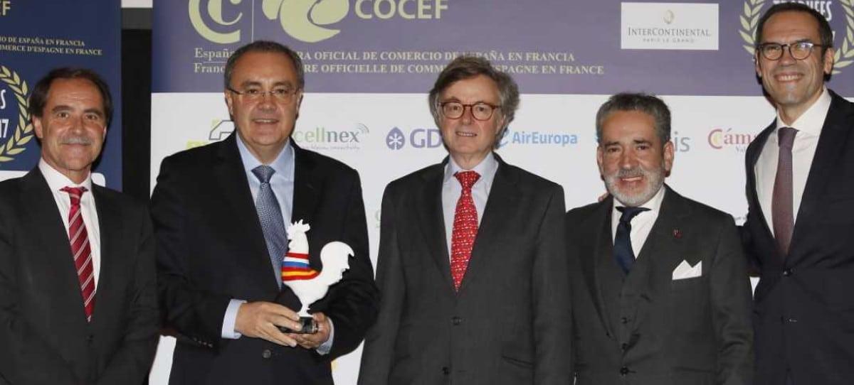 """Cellnex, """"empresa del año"""" en Francia"""
