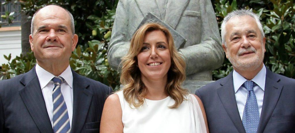 Caso ERE: Susana Díaz dice que Chaves y Griñán son personas 'honestas y decentes'