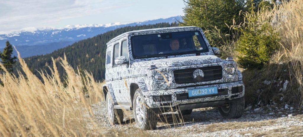 Mercedes-Benz desvela la nueva generación del todoterrenos Clase G