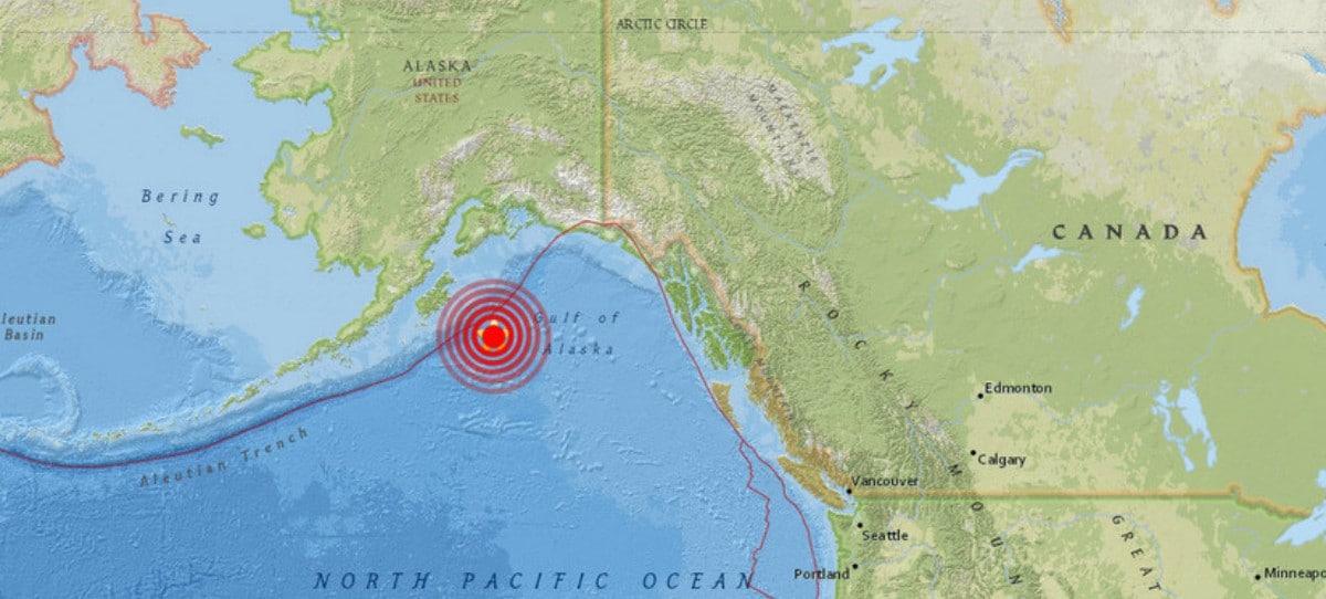 Cancelada la alerta de tsunami tras registrarse un terremoto de magnitud 8,2 en el golfo de Alaska