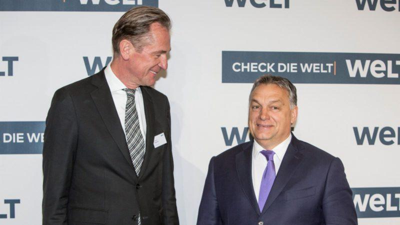 Orbán apunta a las ONG que promueven y alientan la inmigración ilegal