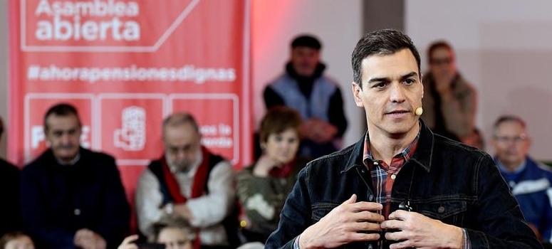 El PSOE, el único que ha congelado las pensiones, se ofrece ahora como garante