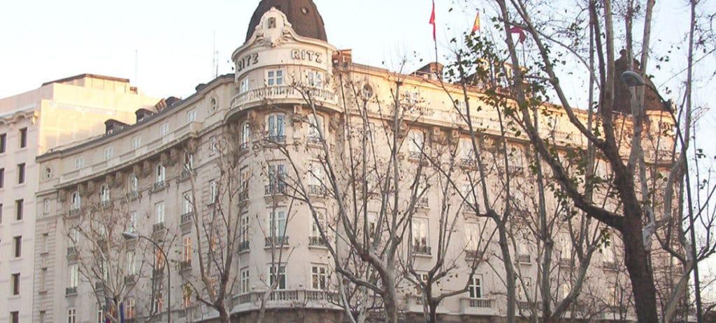 El Hotel Ritz de Madrid cierra este miércoles