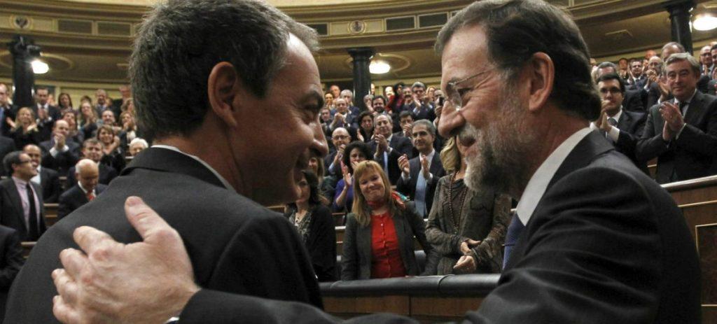 Zapatero afirma que se mensajea habitualmente con Rajoy