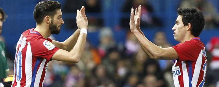 Oficial: Carrasco y Gaitán dejan el Atlético de Madrid y se van al fútbol chino