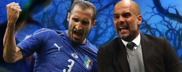 ¡Chiellini afirma que la culpa de que Italia no esté en el Mundial de Rusia es de Guardiola!