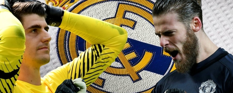 De Gea, favorito para el Real Madrid por delante de Courtois