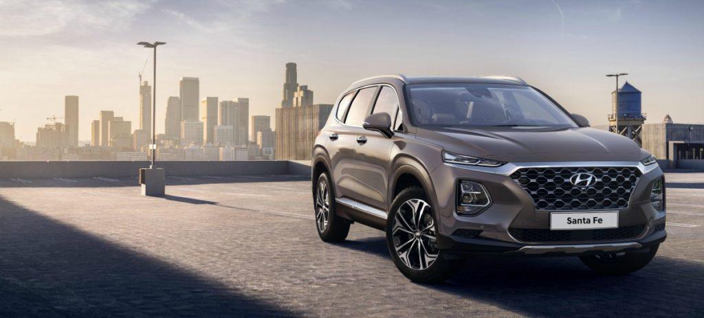 Hyundai revela las primeras imágenes de la nueva generación de Santa Fe