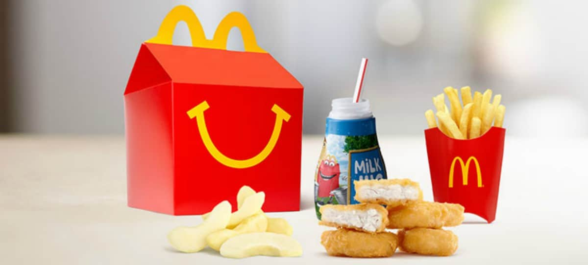McDonald's cambia su 'Happy Meal'