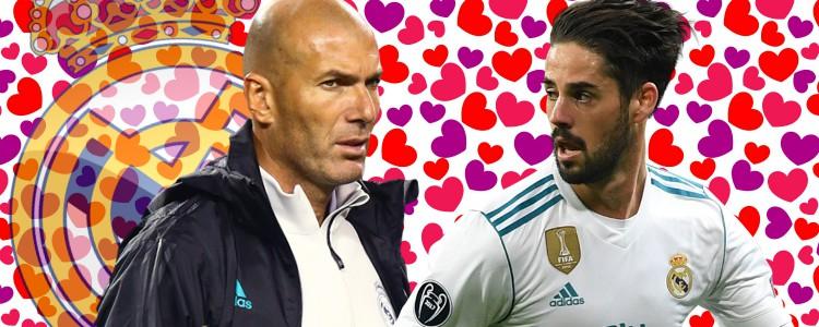 """Zidane niega que quiera vender a Isco: """"Lo quiero en el Real Madrid toda mi vida"""""""