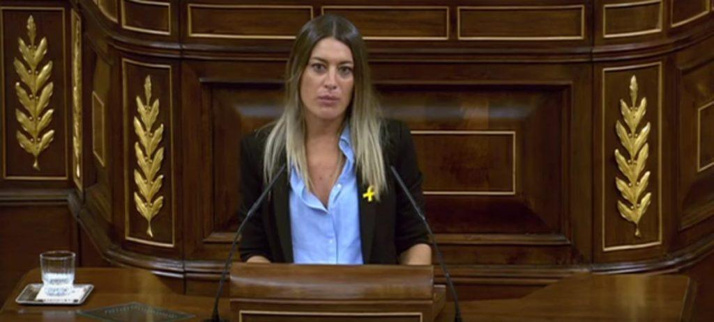 "Diputada independentista llama ""estercolero putrefacto"" a España"