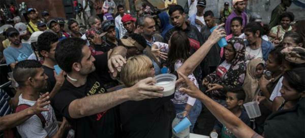 El 64% de venezolanos perdieron 11 kilos por falta de alimentos