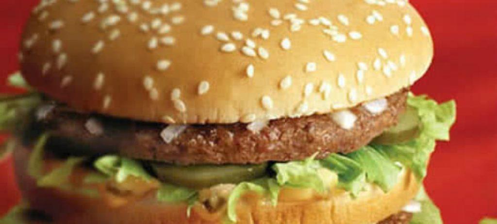 McDonald's inyecta más calorías y grasas a sus hamburguesas