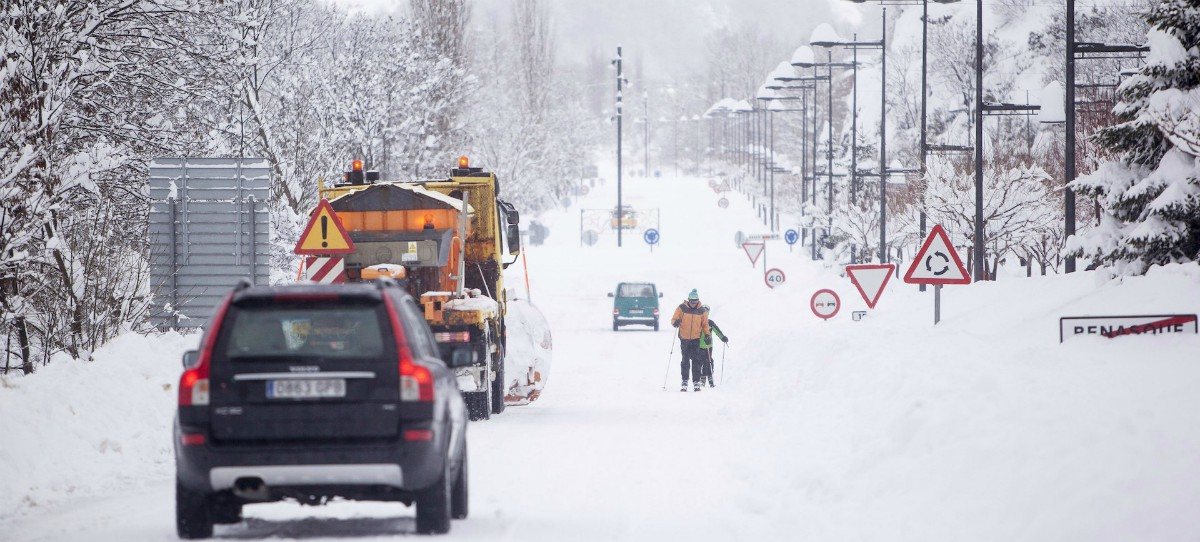 La DGT informa de las carreteras secundarias que seguirán cortadas este fin de semana